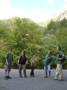 Volontari al Parco d'Abruzzo, Lazio e Molise