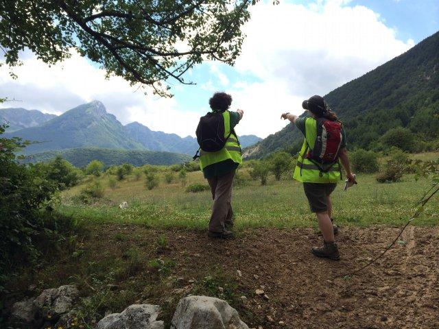 Puttaglia di volontari al Parco Nazionale d'Abruzzo, Lazio e Molise