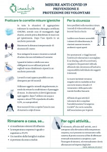 Inachis sicurezza anti covid