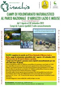 Campo di volontariato naturalistico Abruzzo 2012